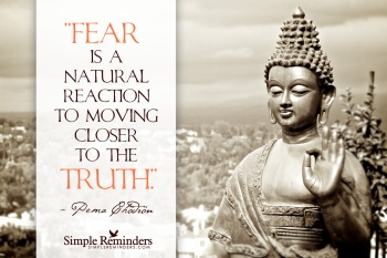 Fear is a natural